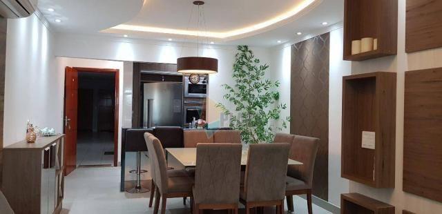Apartamento com 2 dormitórios para alugar, 76 m² por R$ 3.000,00/mês - Tupi - Praia Grande - Foto 8