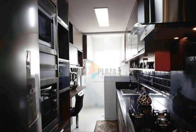 Apartamento com 2 dormitórios para alugar, 76 m² por R$ 3.000,00/mês - Tupi - Praia Grande - Foto 19