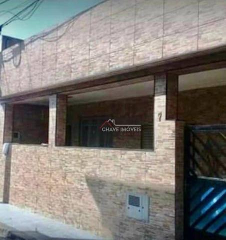 Casa popular com 2 dormitórios à venda, 92 m² por R$ 250.000 - Macuco - Santos/SP
