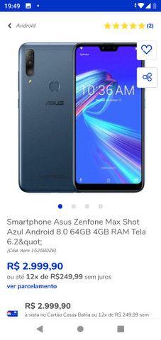 Asus ZenFone Max shot pro - Foto 2