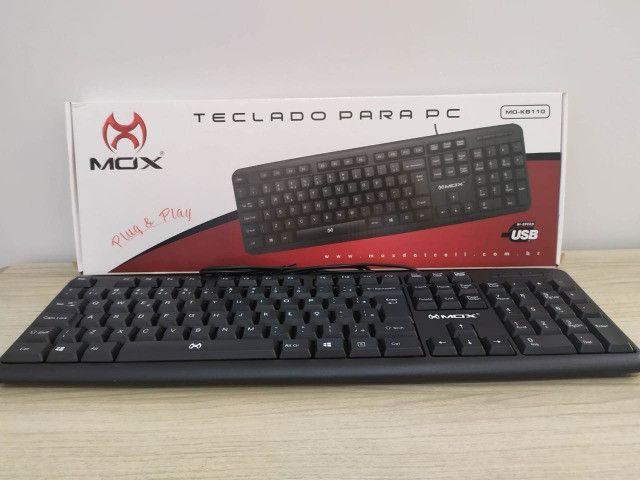 Teclado Pra PC Mox Mo-Kb110 - Foto 2