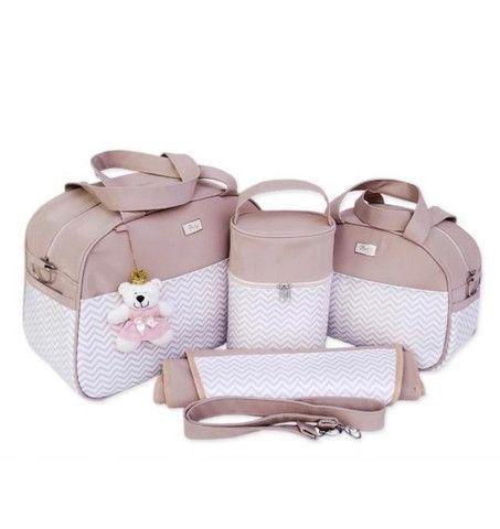 Kit bolsas Maternidade 4 peças  - Foto 2