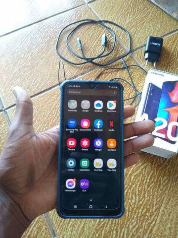 Vendo Ou Troco Samsung A20  - Foto 2