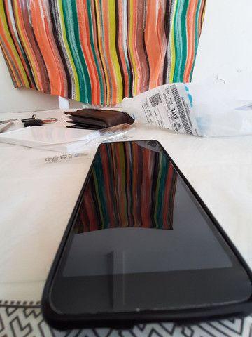 Smartphone zenfone max plus  com fone hardset inova
