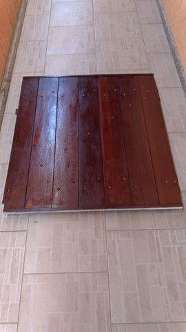 Portão de madeira - Foto 6