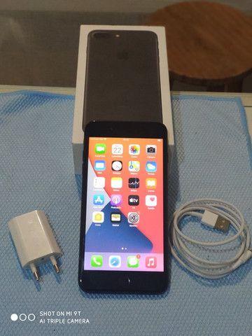 Iphone 7 plus 32gb. em perfeito estado, funciona tudo, aceito trocas e propostas - Foto 2
