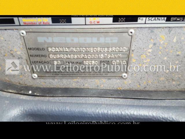 Ônibus Scania/k310 Neobus, Ano 2008 fwxua andwo