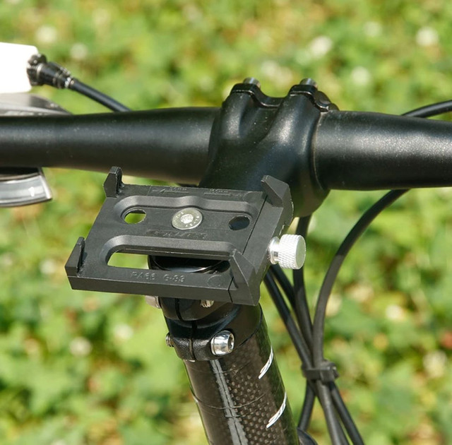 Suporte para smartphone bike moto em alumínio aéreo e ABS ultra resistente - Foto 4