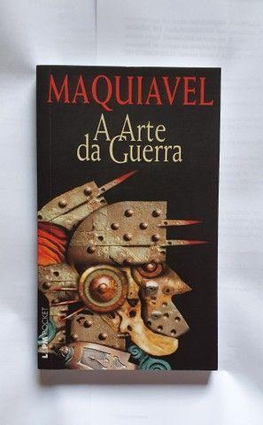 Livro Maquiavel - A Arte da Guerra (perfeito estado)
