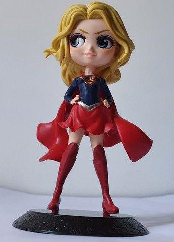 Boneca Alerquina, Super Girl, Mulher Gato, Mulher Maravilha e Coringa - Foto 3