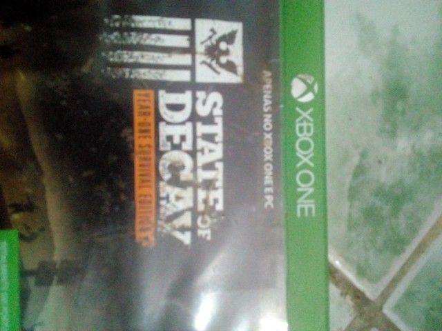 Vendo três jogos de Xbox one seme novos originais - Foto 2