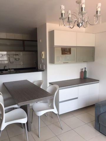 Alugo Apartamento com 1 Quarto Mobiliado Beira Mar do Cabo Branco - Foto 2