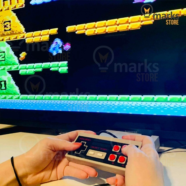 Vídeo Game Portátil Clássico 8 Bits 800 Jogos na Memória e 2 Controles Lançamento - Foto 4