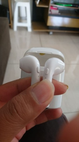 Fone de ouvido Bluetooth i7s tws funciona em todos aparelhos celulares - Foto 3