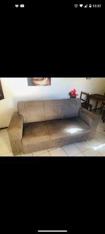 Sofá cinza 3 lugares + 2 poltronas - Foto 2