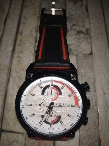 Relógio Lige cronografos funcionais
