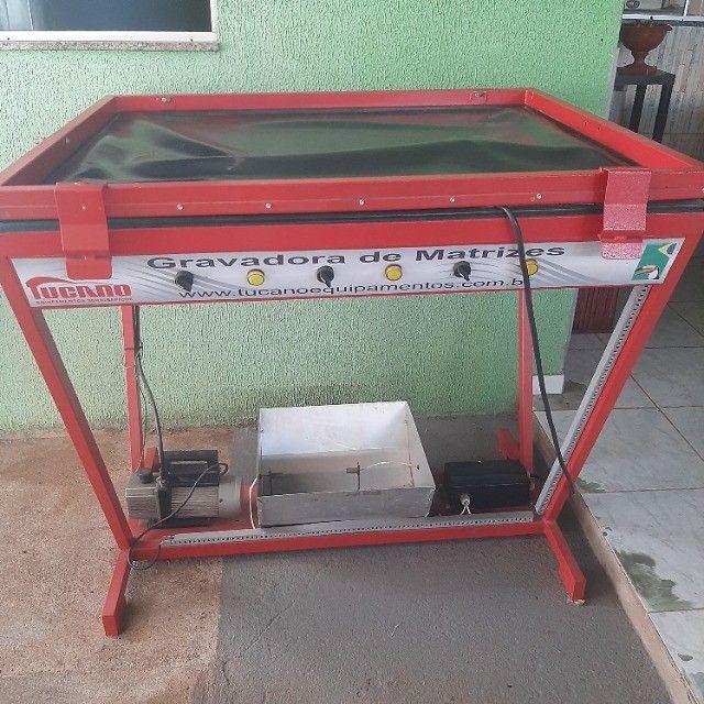 Mesa térmica e gravadora de matrizes - Foto 3