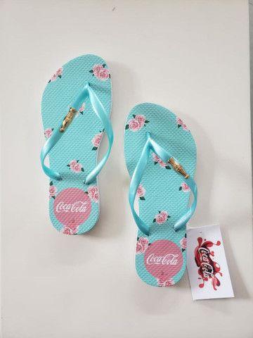 Kits chinelos com 12 pares no transfer digital,temos todas as marcas.  - Foto 2