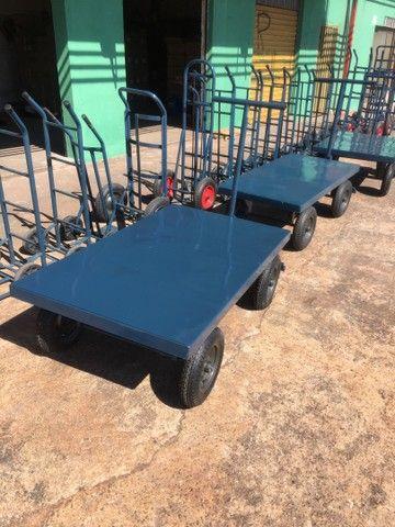 Carrinhos de carga reforçado  - Foto 5