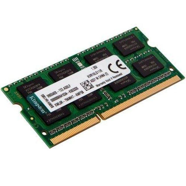 Memória 8gb  DDR3 Notebook - Foto 2