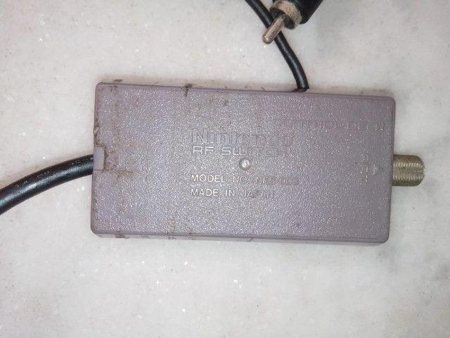 Adaptador RF Super Nintendo Original - Foto 3