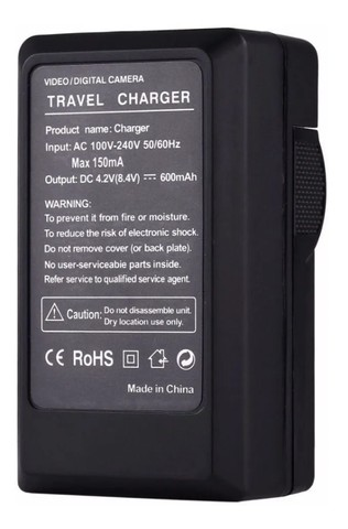 Carregador Sony Bc-vh1 Para Np-fh50 Fv70 Sr68 Hx1 Hx100 Sx20 - Foto 4