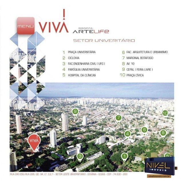 Apartamento com 3 dormitórios à venda, 82 m² por R$ 486.045 - Setor Leste Universitário -  - Foto 18