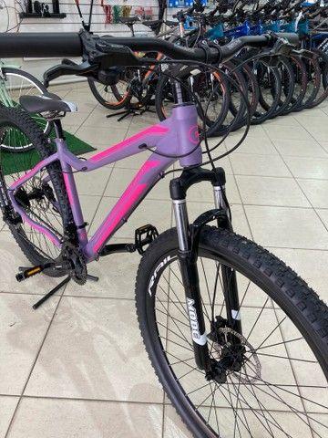 Bicicleta Elleven Luna 24v Shimano - Foto 2