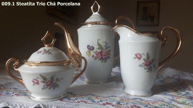 Trio de Porcelana Steatita - Foto 3