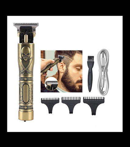 Máquina de Cortar Cabelo Barba Recarregável USB Entregamos Grátis - Foto 2