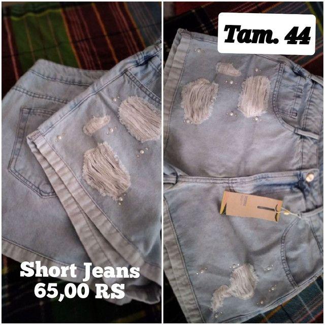 Calça jeans masculinos e femininos - Foto 3