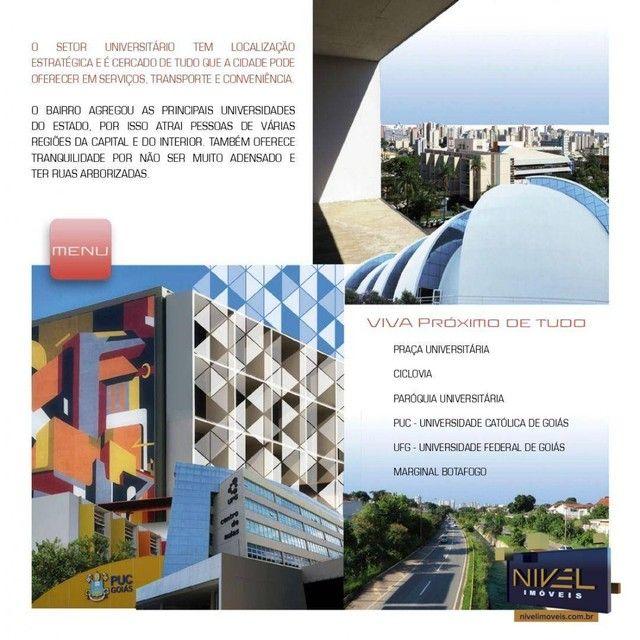 Apartamento com 3 dormitórios à venda, 82 m² por R$ 486.045 - Setor Leste Universitário -  - Foto 19