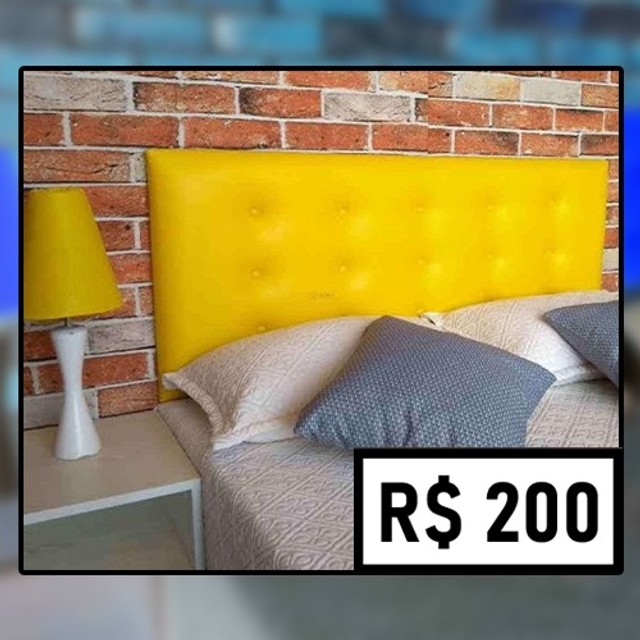 Promoção Relâmpago! Cabeceira Casal (de R$ 280 por apenas R$ 200) - Foto 3