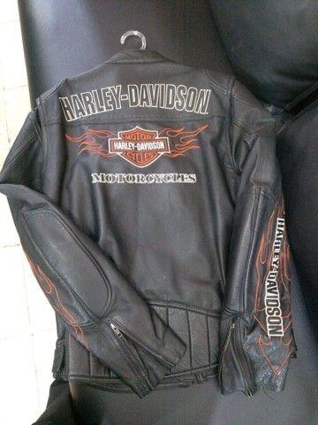 Vendo Jaqueta Harley Davidson e Relógio Bulova!! - Foto 3