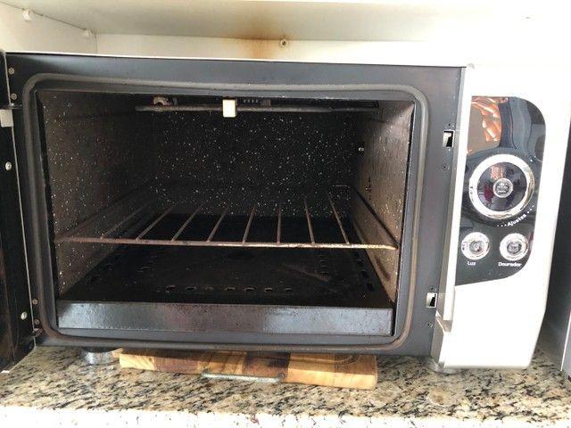 forno eletrico fischer lumem grill 44l - Foto 2