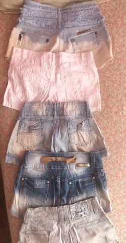 5 shorts - tamanho 36 - várias marcas - Foto 3