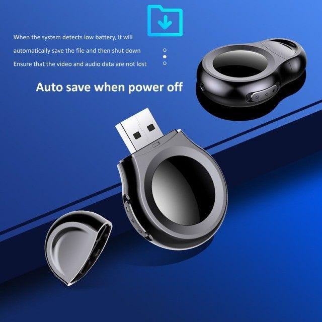 Mini Câmera 1080p USB Loop Gravação de Voz   - Foto 3