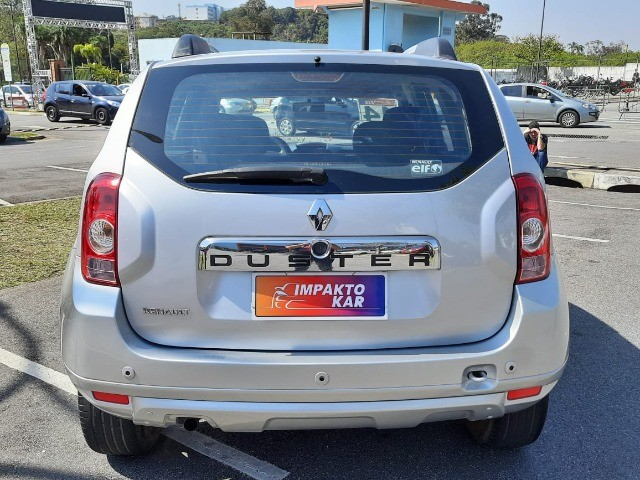 Renault Duster 2014 Prata Mec  - Foto 4