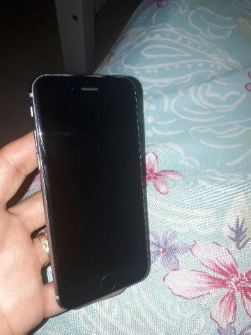 IPhone 6, 64 gigas, com placa queimada