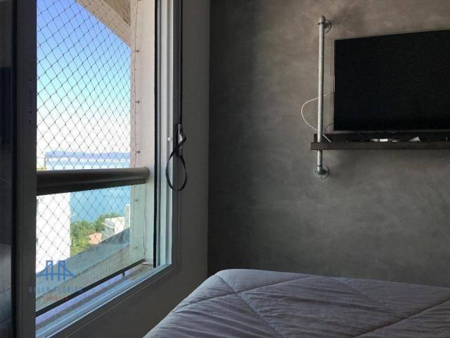 Amplo apartamento mobiliado no joão paulo com linda vista para o mar, 3 suítes, sacada e 3 - Foto 13