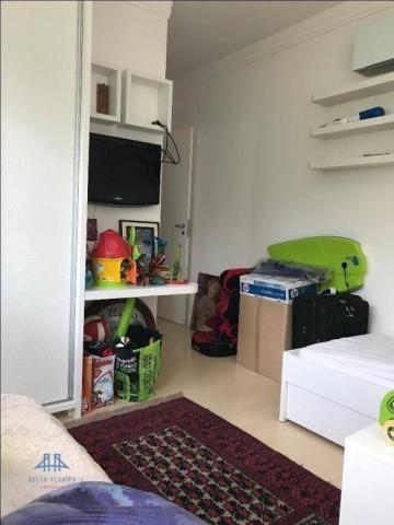 Amplo apartamento mobiliado no joão paulo com linda vista para o mar, 3 suítes, sacada e 3 - Foto 20