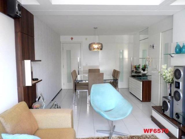 Cygnus, apartamento 3 quartos, 2 vagas, próximo Whashington Soares, Luciano Cavalcante - Foto 2