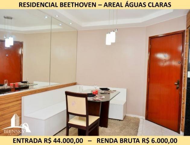 Apartamento 3 Quartos, 1 Suite em Águas Claras Areal - Residencial Beethoven