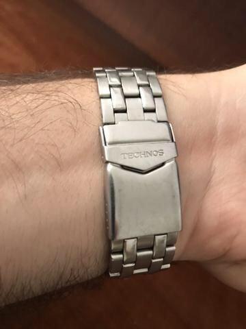 02e501c70cd Relógio Technos Skymaster 6p89ae 1p Multi Calendário - Bijouterias ...