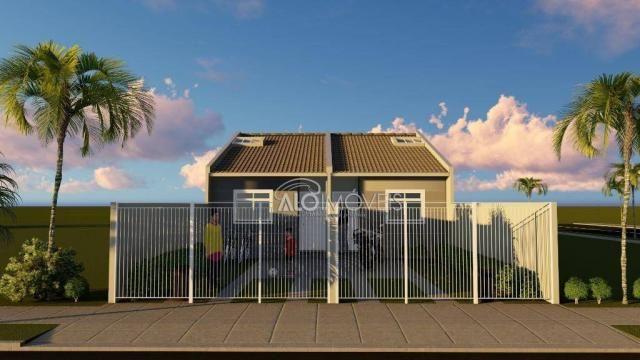 Casa com 2 dormitórios à venda, 41 m² por r$ 160.000 - campo de santana - curitiba/pr - Foto 6