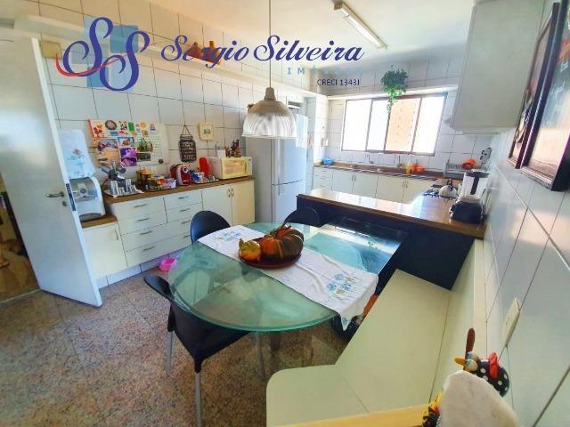 Apartamento na Aldeota com 4 suítes todas com closet, amplo e ventilado, nascente 4 vagas - Foto 7