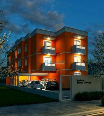 Apartamento garden à venda, 56 m² - cruzeiro - são josé dos pinhais/pr - Foto 2