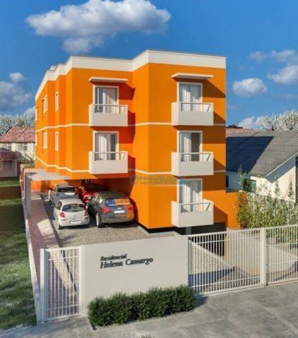 Apartamento garden à venda, 56 m² - cruzeiro - são josé dos pinhais/pr