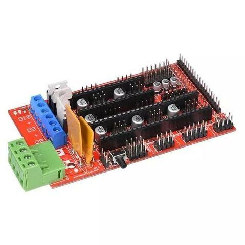 COD-AM164 Ramps 1.4 - Reprap - Impressora 3d - Cnc Arduino Automação Robotica