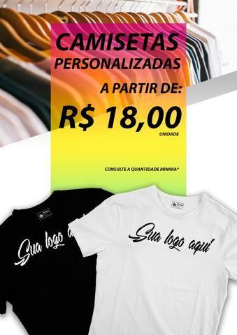 Color print camisetas e serigrafias